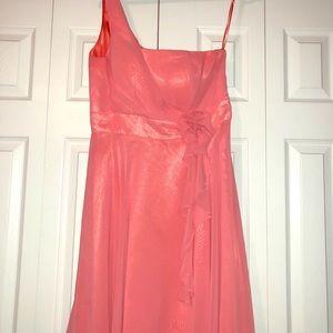 Dresses & Skirts - NWOT, Bridal Elegance coral bridesmaid dress
